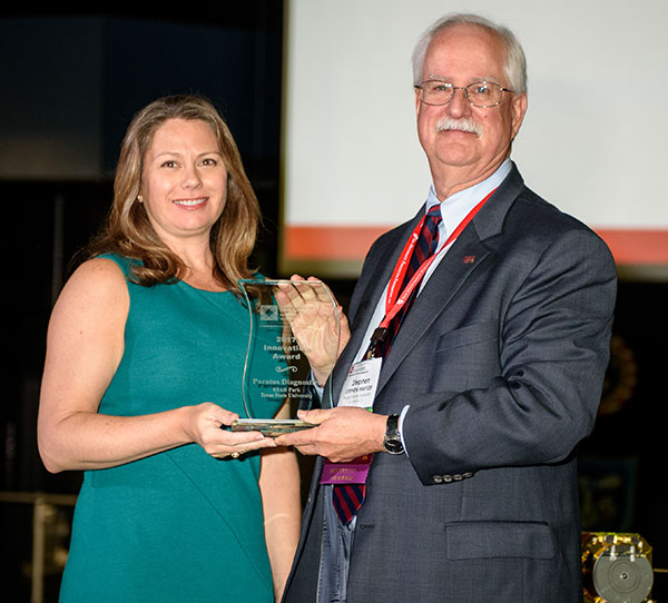 Innovation Award, Paratus Diagnostics, Shannon Weigum, VP